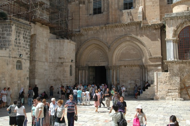 The Church of the Holy Sepulchre. Photo courtesy of a friend.