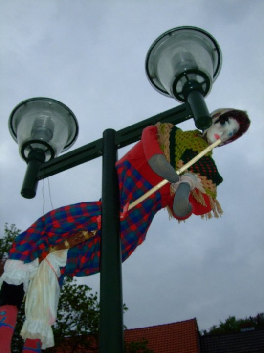 Another witch on the lamp post