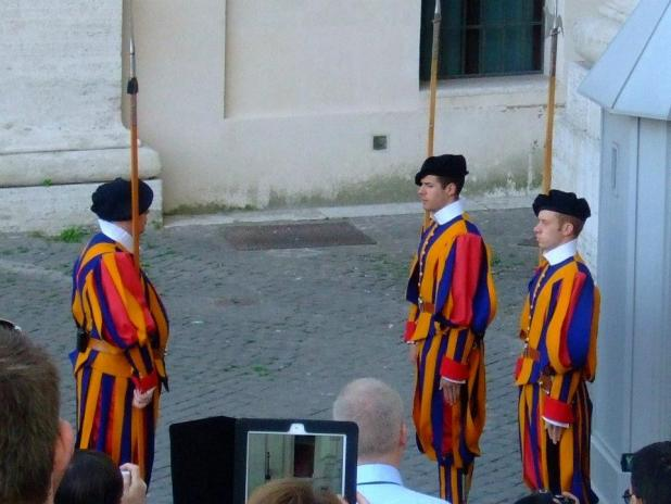 The Vatican Swiss Guards