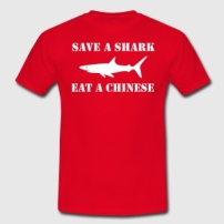 save-a-shark-eat-a-chinese-3-t-shirts-maenner-t-shirt