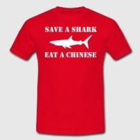 save-a-shark-eat-a-chinese-3-t-shirts-maenner-t-shirt