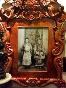 Sugar Baron and his first wife, Raden Adjeng Kasinem (1857–1935)